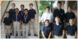 Math 24 Team Enjoys Success in First Year of Competition