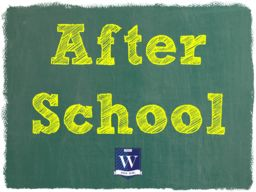 After-School Care and Extra-Curricular Activities