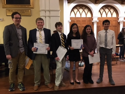 Wyndcroft Students Excel at County Science Fair