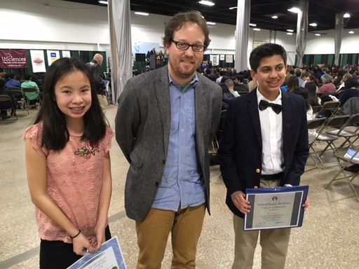 Wyndcroft Students Honored at Delaware Valley Science Fair