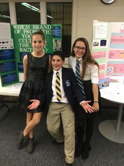 Congratulations to 7th Grade Science Fair Winners!